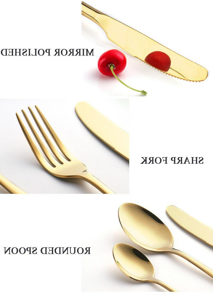 Multi Color Stainless Steel Flatware 4