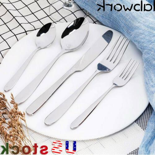 new 20 piece silverware flatware cutlery set