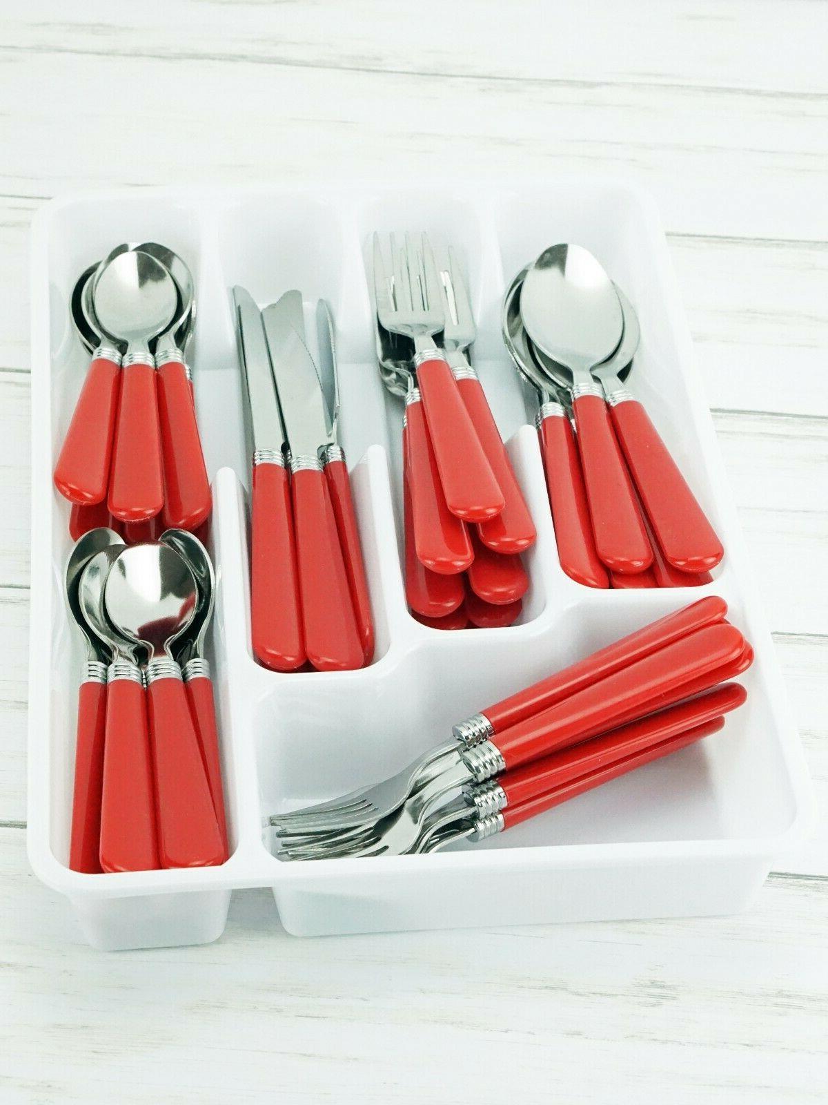 New 48pc Steel Set Fork Butter Spoon Kit