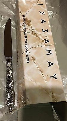 NEW Yamazaki Byzantine All Stainless Serrated Steak Knife 9
