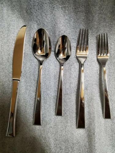 new epoch 5 piece flatware set