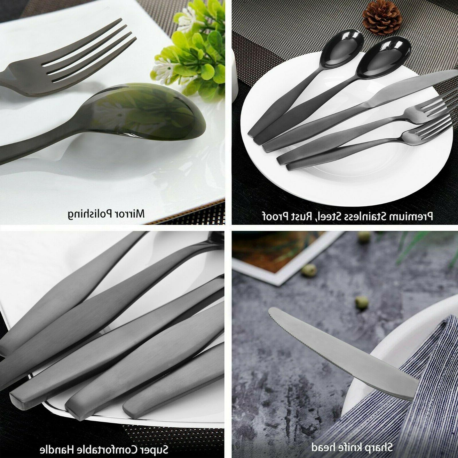 NEW Lorena Flatware 20 Silverware Set - 20pc for 4