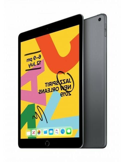 New Apple iPad 7th Gen 128GB Gray Gold Silver WiFi Model