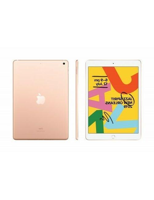 New Sealed Apple iPad 7th Gen 128GB Gold WiFi