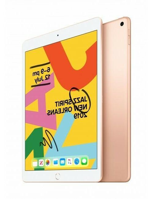 New iPad 128GB Gray Gold WiFi 2019
