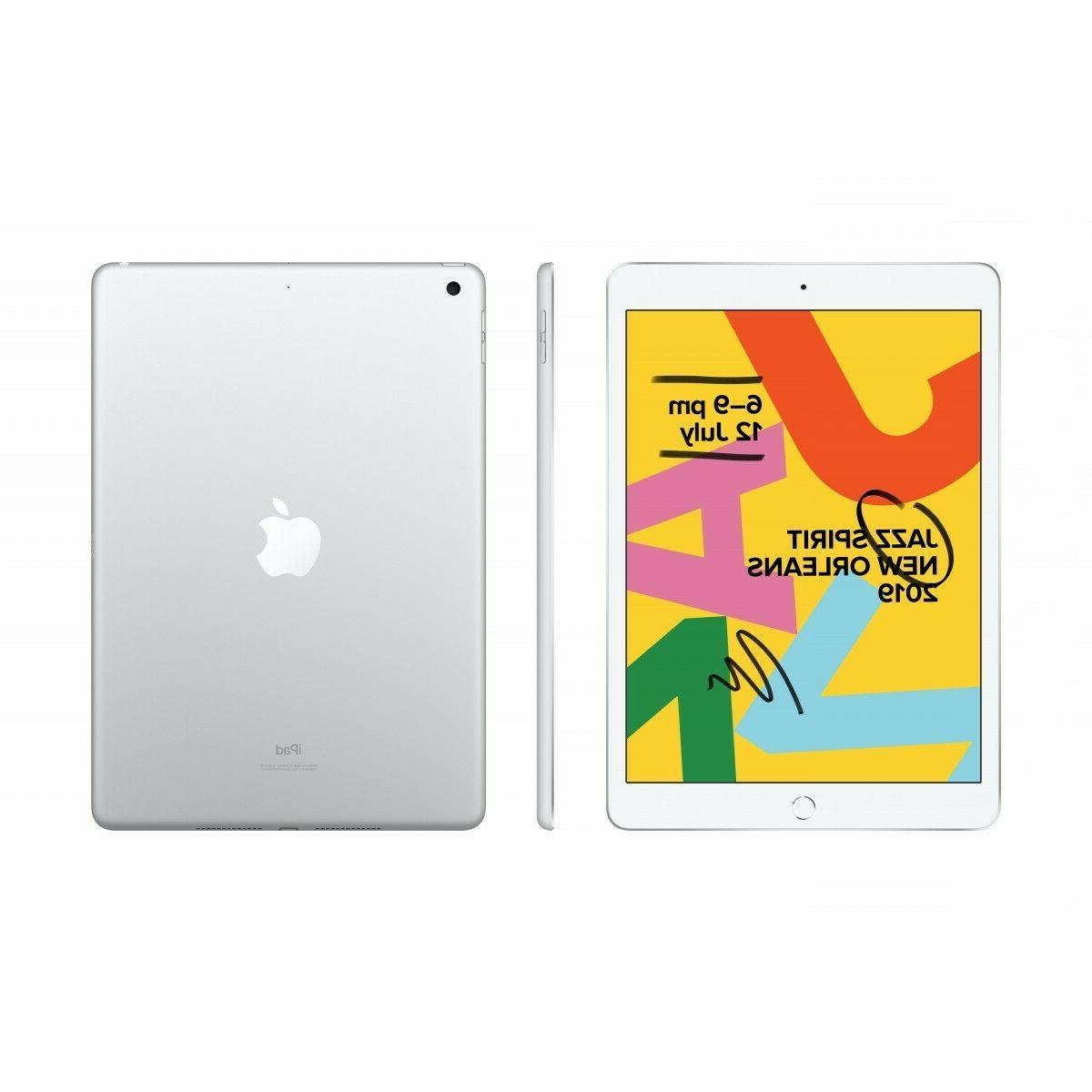 "New Sealed Apple 10.2"" iPad Gen 128GB Gray"