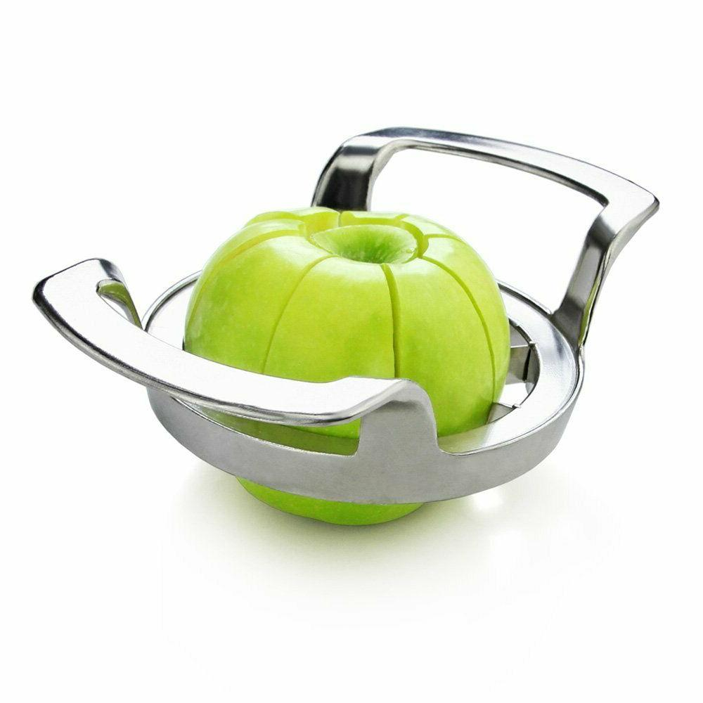 New 42887 Heavy Duty Commercial Apple Corer and Divider, Silver