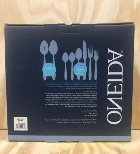 New! 50 Piece Stainless Steel Flatware Service Extra