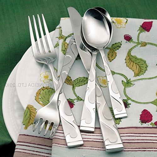 Oneida Tuscany Flatware Set, Service for