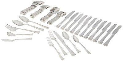 portola 65 piece flatware set