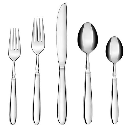 20 Flatware Set, Stainless Steel for Include Safe