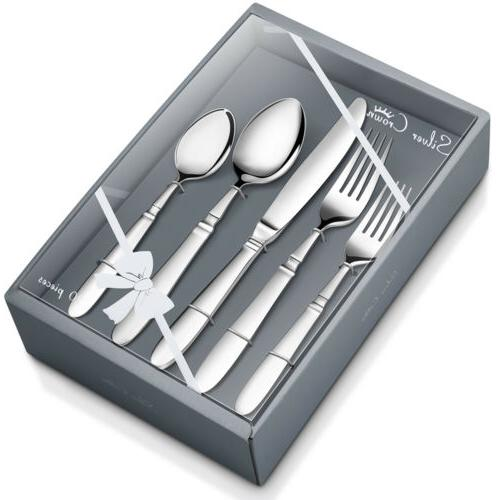 qualiwin silver flatware cutlery set