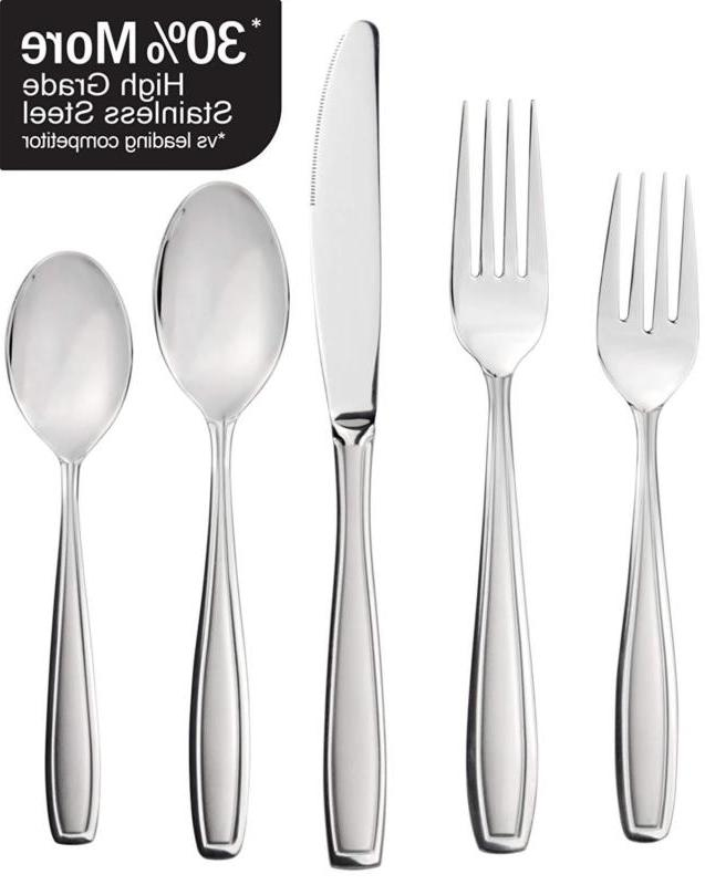 radley stowe 20 piece flatware solid stainless