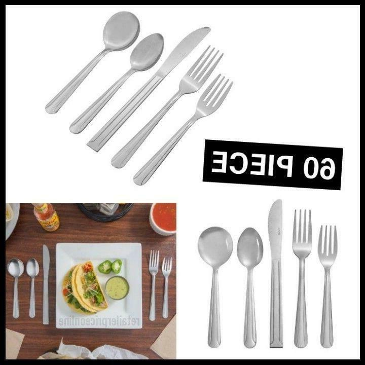 Restaurants 18/0 Stainless Steel Flatware Set with Service f