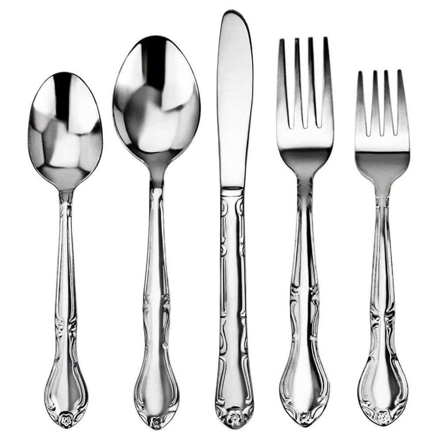 service for 12 5 flatware multi set