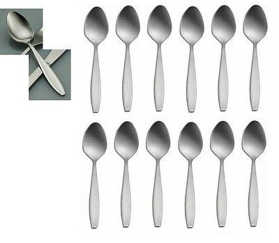 set of 12 delco midland stainless teaspoons