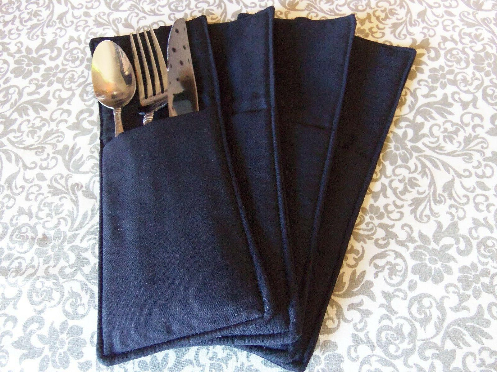Set of 4 Pockets, Dining,4x10""