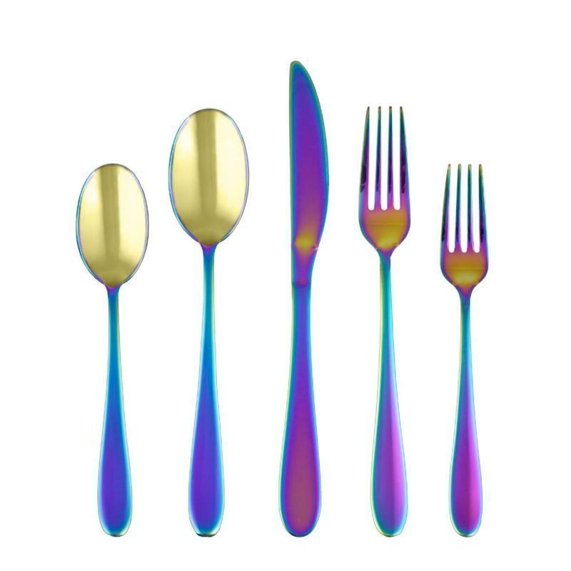silversmiths byram rainbow mirror 20 piece flatware