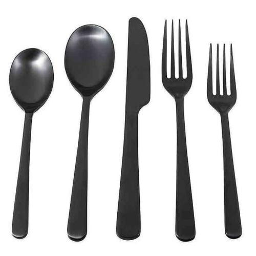 silversmiths julie satin 5 piece flatware set