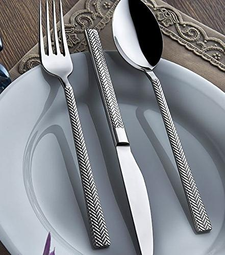 silverware set 18 10 stainless