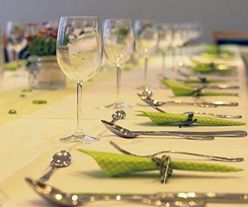 Silverware Set, E-far Steel Eating 8, Dinner & Mirror Polished & Safe