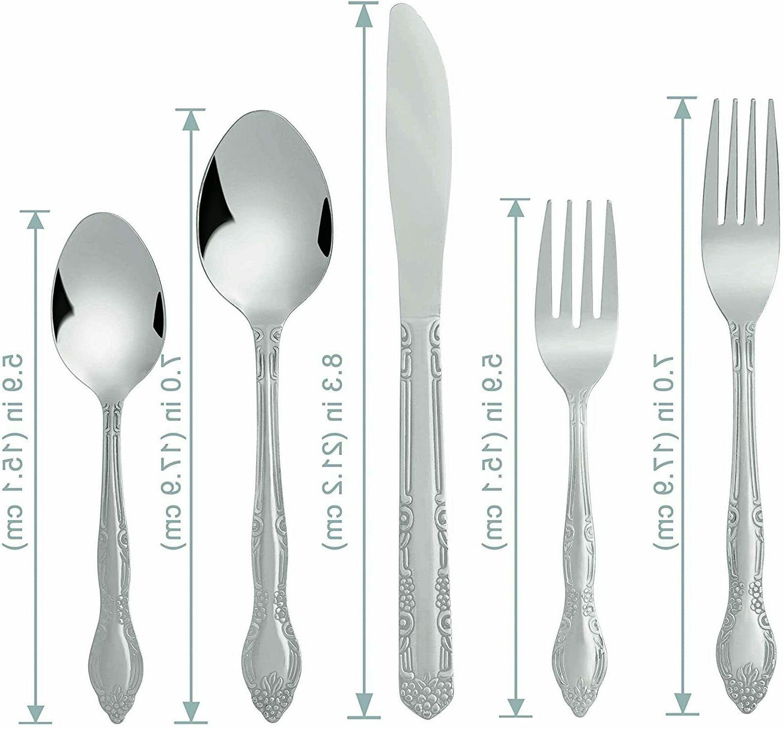 20 Silverware Stainless Spoon