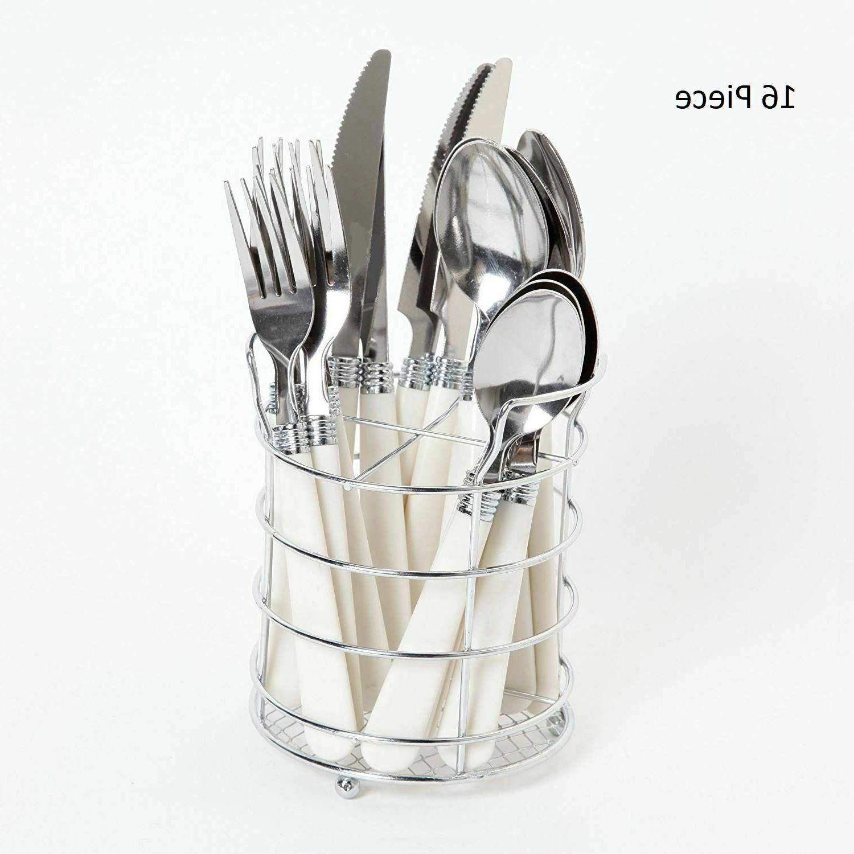 silverware set stainless steel flatware cutlery knife