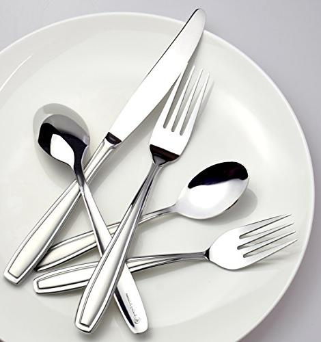 Radley Flatware Solid Stainless Steel Silverware Set