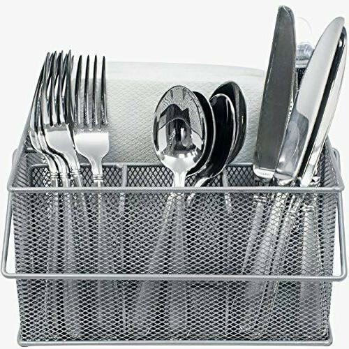 Silverware, Napkin Holder,