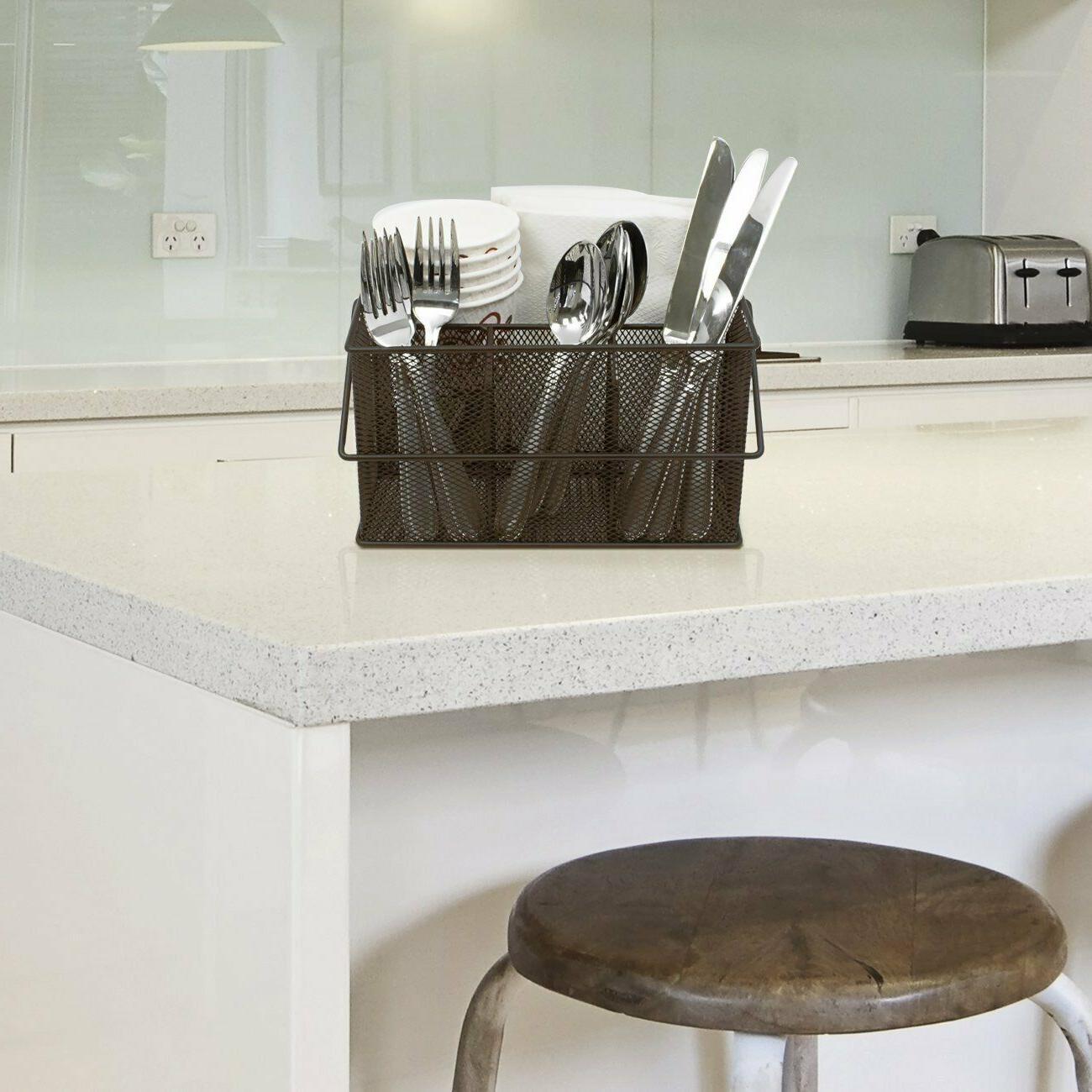 Sorbus Silverware, Holder, Condiment Organizer
