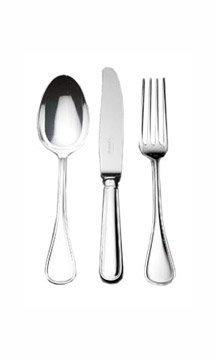 Christofle Stainless Albi II 30pc Set Includes 6x5pc Place S