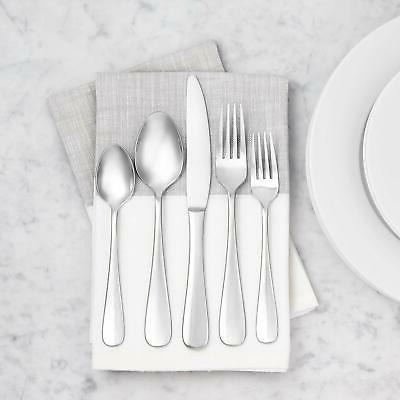 AmazonBasics Stainless Steel Dinner Forks with Round Pack 12