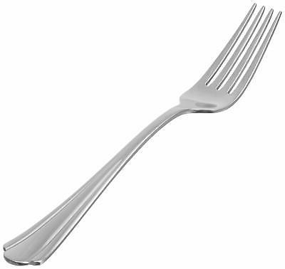 AmazonBasics Stainless Forks Round Pack of