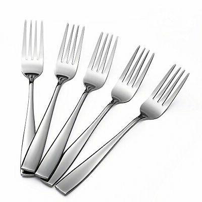 Eslite Staintess Steel Salad Forks Set,6.7-Inch,12-Piece