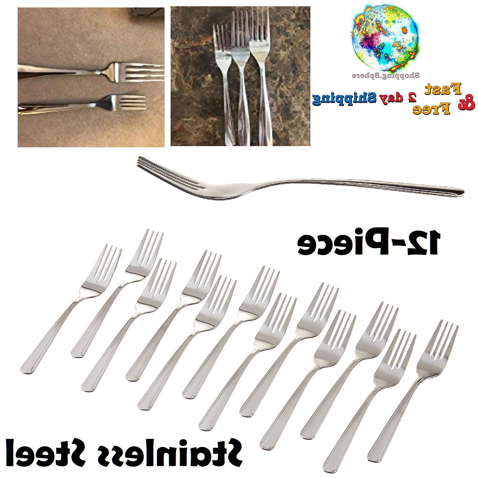 stainless steel salad fork set home restaurant