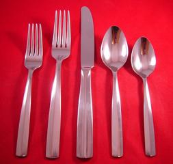 Lenox Lachlan Stainless Glossy 18/10 Flatware Your Choice NE