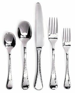 Ginkgo Lafayette 42-Piece Stainless Steel Flatware Set