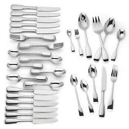 Lenox Lakedale 72 Piece Flatware Set Service For 12 Stainles