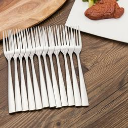 long handle dinner forks cutlery dining steak
