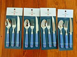lot of 4 target silverware flatware set