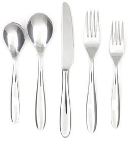 Cambridge Silversmiths Luzerne Satin/Mirror 30-Piece Flatwar
