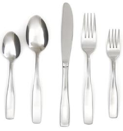 Cambridge Silversmiths Madison Satin 62-Piece Flatware Set w
