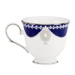 Lenox Marchesa Couture Tea Cup, Empire Pearl Indigo