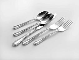 Oneida Marlena 114 Piece 18/10 Stainless Fine Flatware Set,