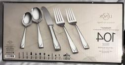 Lenox  MIDDLETON 104-Piece 18/10 Flatware Set Service for 12