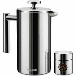 Mueller MU-SSHYDPRESS Stainless Steel French Press Coffee Br