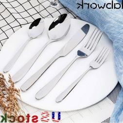 New 20-Piece Silverware Flatware Cutlery Set,Include Knife/F