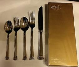 New-Lenox Eternal 5-Piece Stainless Flatware Place Setting-s