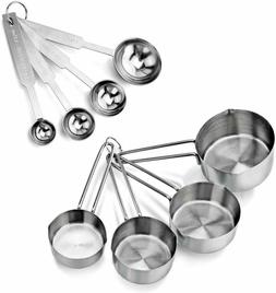 NSF Measuring Cup & Spoon Set Home Kitchen Cooking Cake Baki