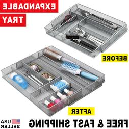 Office Desk Organizer Expandable Mesh Tray Kitchen Drawers F